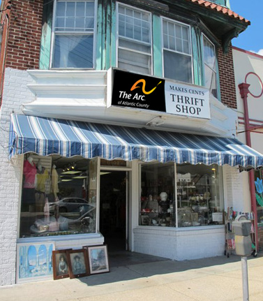 This is a photo of the thrift shop located on Ventnor Ave. in Ventnor.